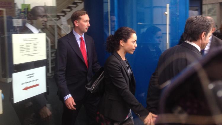 Eva Carneiro with husband Jason de Carteret. Pic: Eir Nolsøe