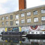 River Lea Navigation off White Post Lane, where the body was found Pic: Wikipedia
