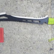 Zombie Killer Knife seized during drug raids.