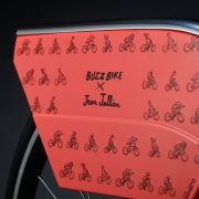 Jean Julien's design for London's new free bike start-up Buzzbike Pic: Buzzbike
