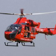 London Air Ambulance took the woman to hospital. Pic: Wikimedia Commons