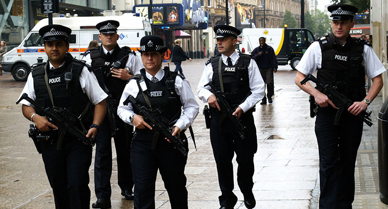 Tower Hamlets and Hackney gun criminals will be targeted under Operation Viper Pic: Paul Townsend