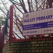 Halley Primary School. Pic: Sundus Saeed