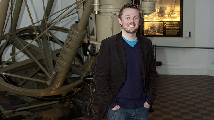 Brendan Owens, Astronomer at the Royal Observatory Greenwich. Pic: National Maritime Museum, London
