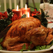 Turkeys are the main dish of all-American Thanksgiving dinners. Pic: Dianne Rosete (CC BY-ND 2.0)