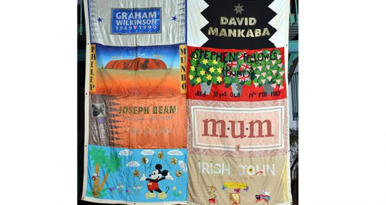 UK AIDS Memorial Quilt. Photo: Mark Santos