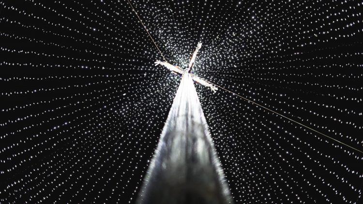 Croyond Christmas lights. Pic: Anastasia Shub