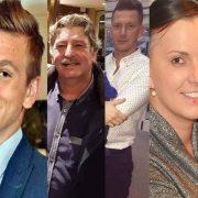 The seven crash victims