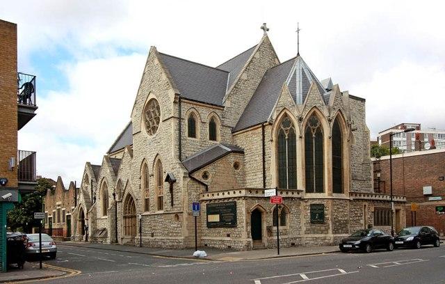 St Annes Church, Hoxton by John Salmon