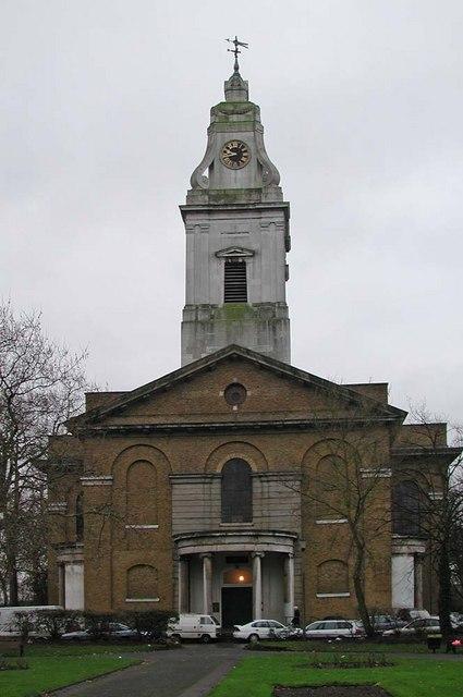 St John's Church, Hackney by John Salmon