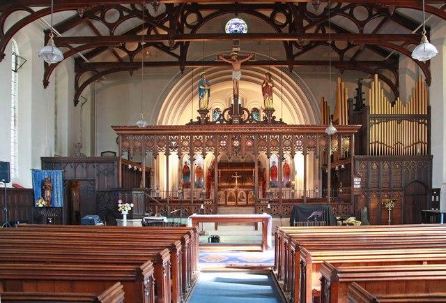 St Peter's Church, Bethnal Green by John Salmon