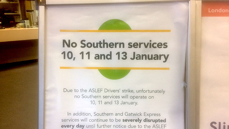Southern Rail staff launch strike over driver-only trains