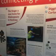A timeline maps the discovery of the theatre's remains. Pic; Natasha Chisabingo.
