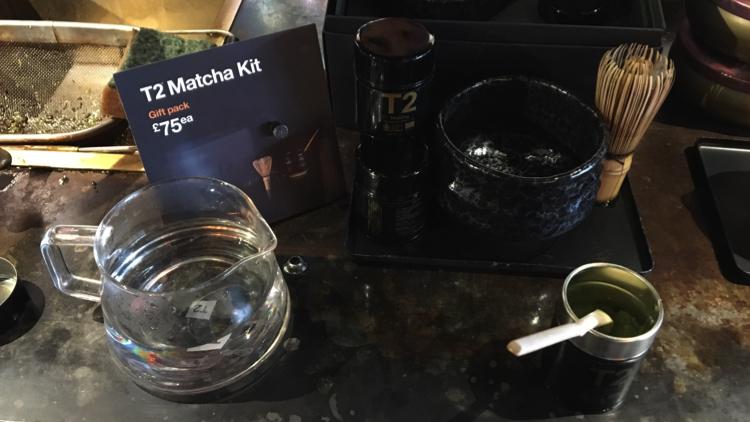 Brewing matcha tea. Pic; Holly Patrick.