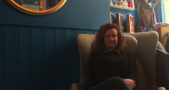 Giulia Giacalone, co-owner of 40 Colori in Shoreditch. Pic; Benedetta Ricci