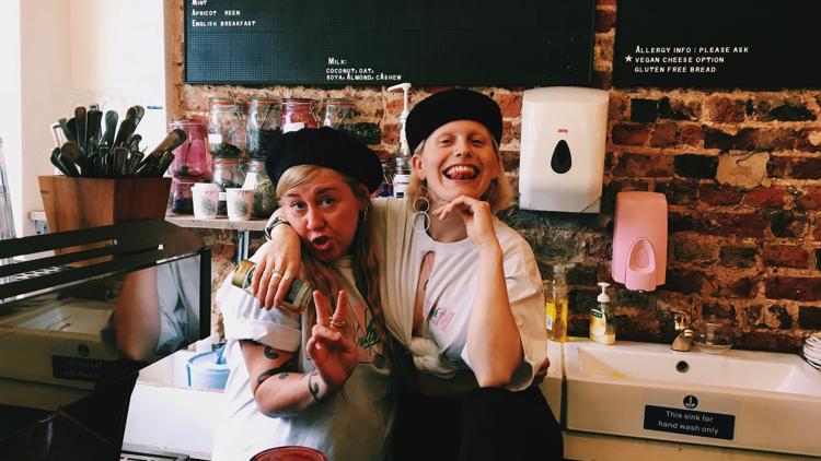 Olivia and Ranny. Pic; Holly Patrick.