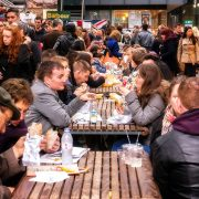 People in Old Spitafields market Pic: Garry Knight (Flickr)