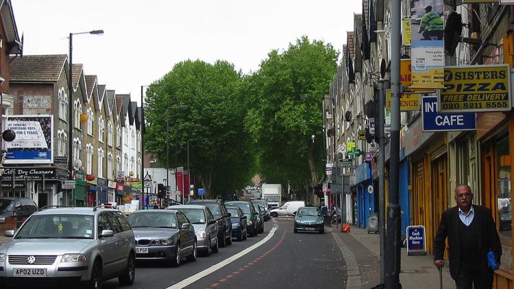 Seven Sisters Road, Haringey. Pic; Alan Stanton (Flickr)