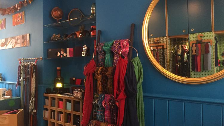 The interior of 40 Colori. Pic; Benedetta Ricci.