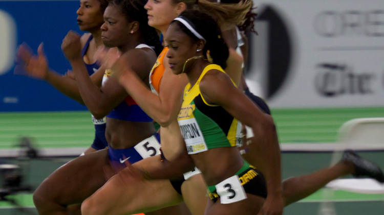Elaine Thompson pic; Fillip Bossuyt