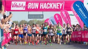 2016 Hackney Half Marathon Pic; Vitality Run Hackney
