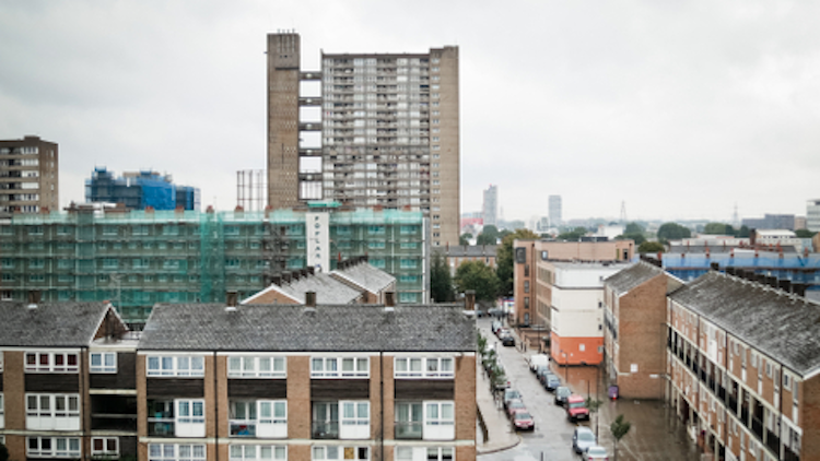 Private renting makes up 40% of Tower Hamlets housing Pic: Nicobobinus