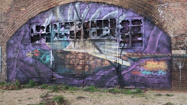 Mural Two: Pheasant