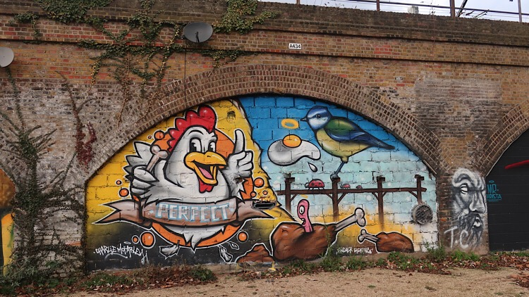Chicken Mural