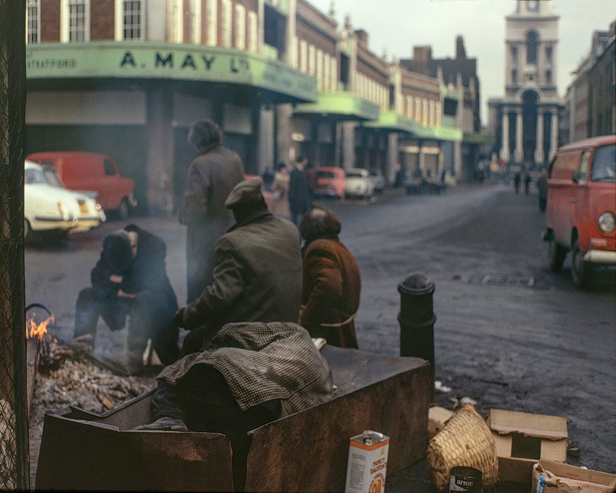 Spitalfields Market, 1973. Pic: Hoxton Mini Press