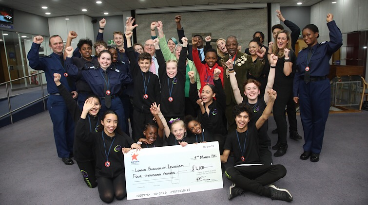 £4,000 award to Lewisham