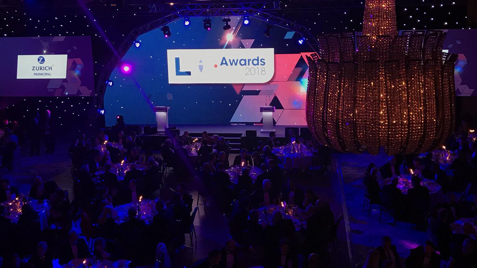 LGC Awards 2018 ceremony
