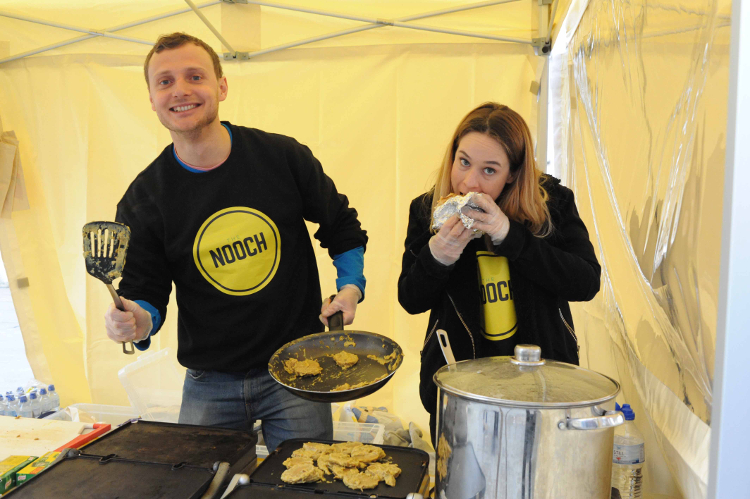 Nooch, a business specialising in vegan cuisine. Pic: Team Catford