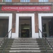 Lewisham Southwark College, close to a council proposed CPZ. Pic: Callum Haslehurst-Mackenzie