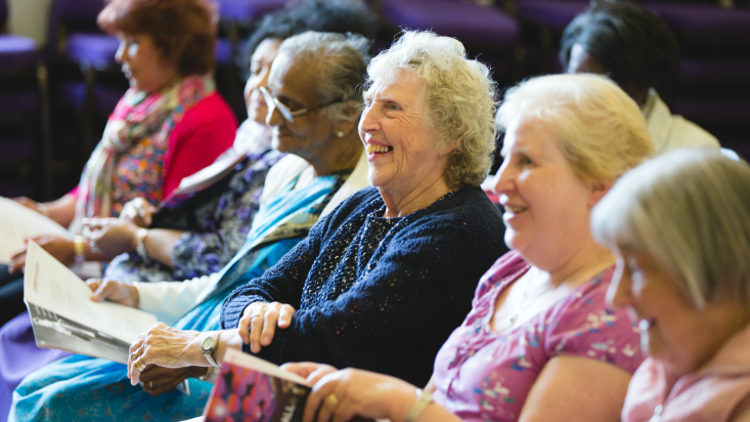 Cinemas across the country are beginning to offer 'dementia friendly screenings', tailoring the cinema experience to residents with the disease. Pic: Alzheimer's Society
