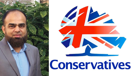 Imtiyaz Lunat, Conservative mayoral candidate for Hackney. Pic: Hackney Conservatives