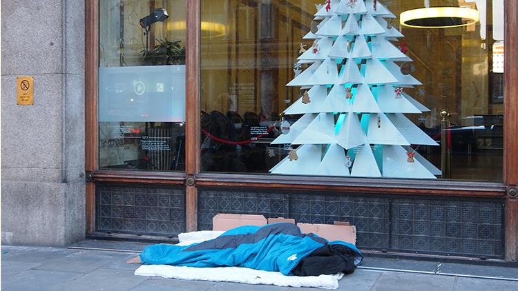 Rough sleeping in London Pic: Thames Menteth