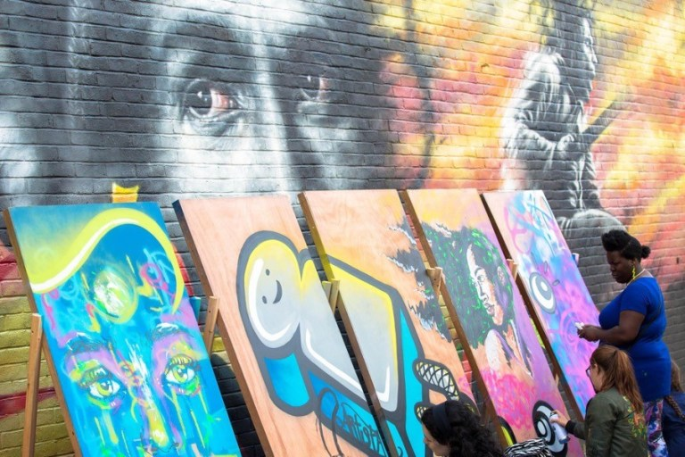 Brockley Max festival closes with family art day in Hilly