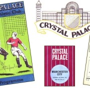 Montage of Crystal Palace FC programmes 1955, 1960 and 1970