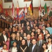 Contestants at Croydon Town Hall Pic: PicturePartnership