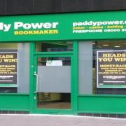Paddy Power. Pic: Betty Longbottom