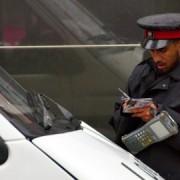 Parking attendant. Pic: Salim Fadhley