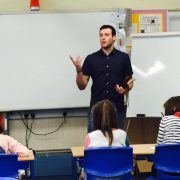 Teacher Christian Foley impressed 50 Cent with his rapping