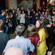 A busy and vibrant night at The Jamboree world music club in Limehouse. Pic: Alejandro Tamagno