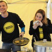 Nooch, vegan cuisine specialists, at Catford Food Market. Pic: Team Catford