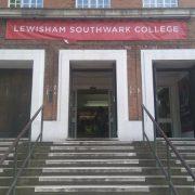 Lewisham Southwark College, close to a council proposed CPZ. Pic: Callum Haslehurst-Mackenzie