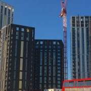 The residential towers of Lewisham Gateway have been branded bland Pic: Building Design