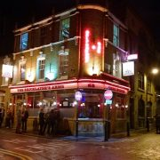 The Bricklayer's Arms pub in Shoreditch, Hackney.