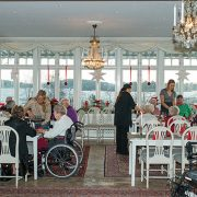 The hamper appeal serves elderly people in Croydon. Pic: Bengt Nyman