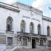 Hackney town hall, Mare Street, Hackney, London